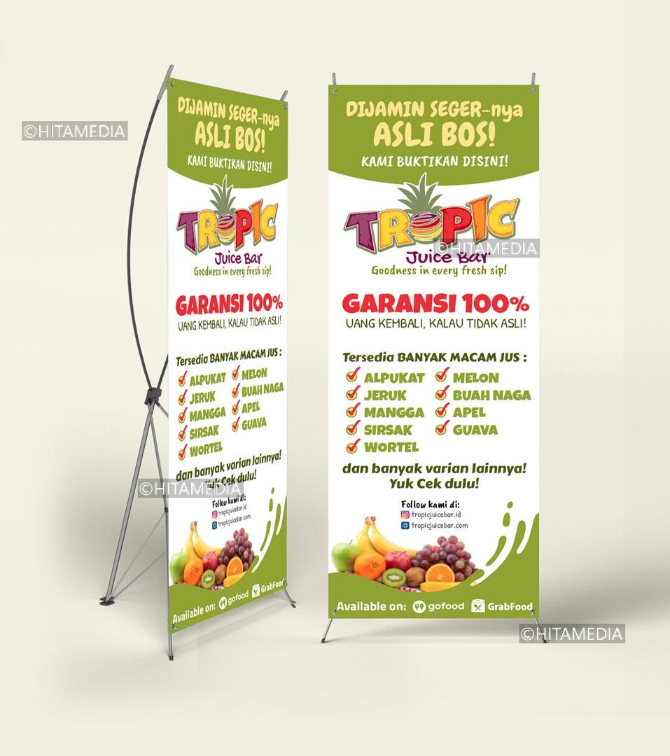 portofolio Bikin Banner Jakarta Utara